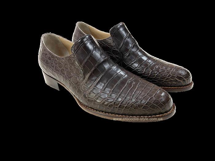 лофер коричневый крокодил