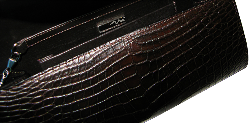 пошив сумки из кожи крокодила