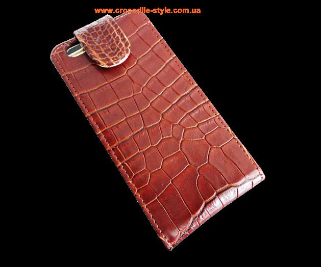 чехол из кожи крокодила iPhone 6